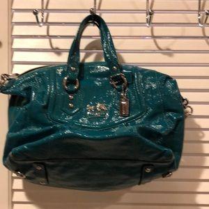Coach- Teal purse